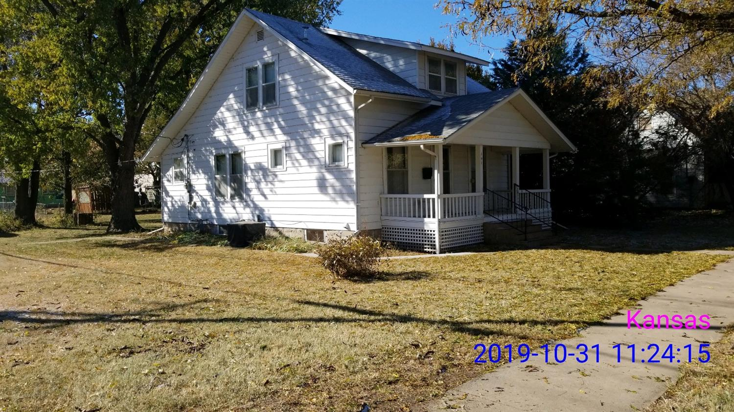 Home is reasonably priced. It has a large lot. Hardwood floors with beautiful wood work. Full unfinished basement. CH/CA are approximately 3 years old. Must see!