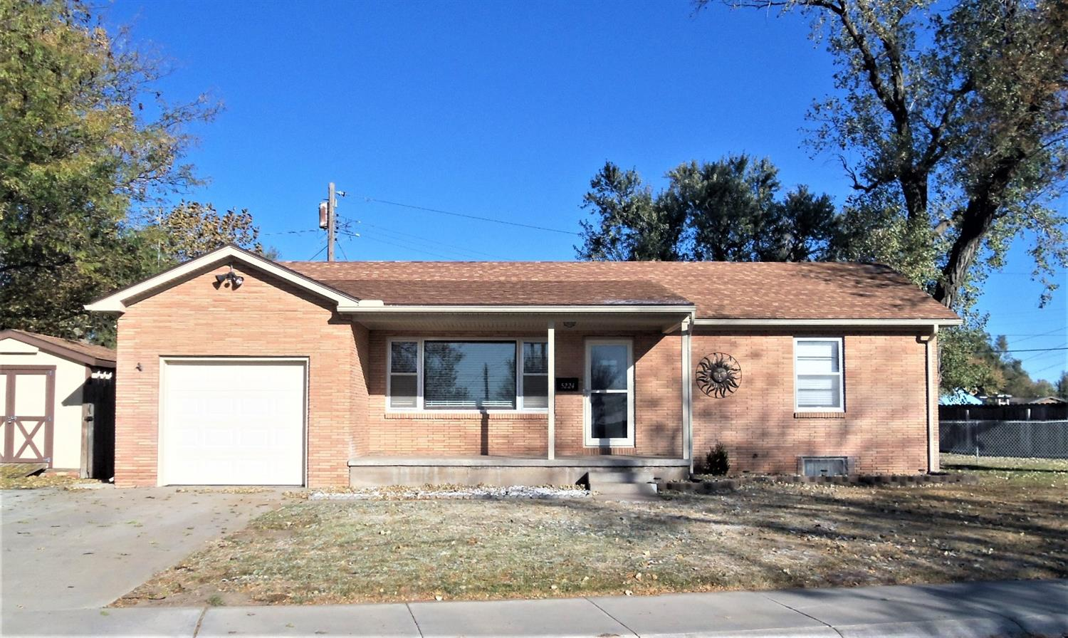 Must see this 4 bedroom & 2 bath brick home in a great neighborhood. It has newer appliances, CH/CA 2019, Water heater 2018, 10' x 14' storage shed with doors on both ends. Call today!