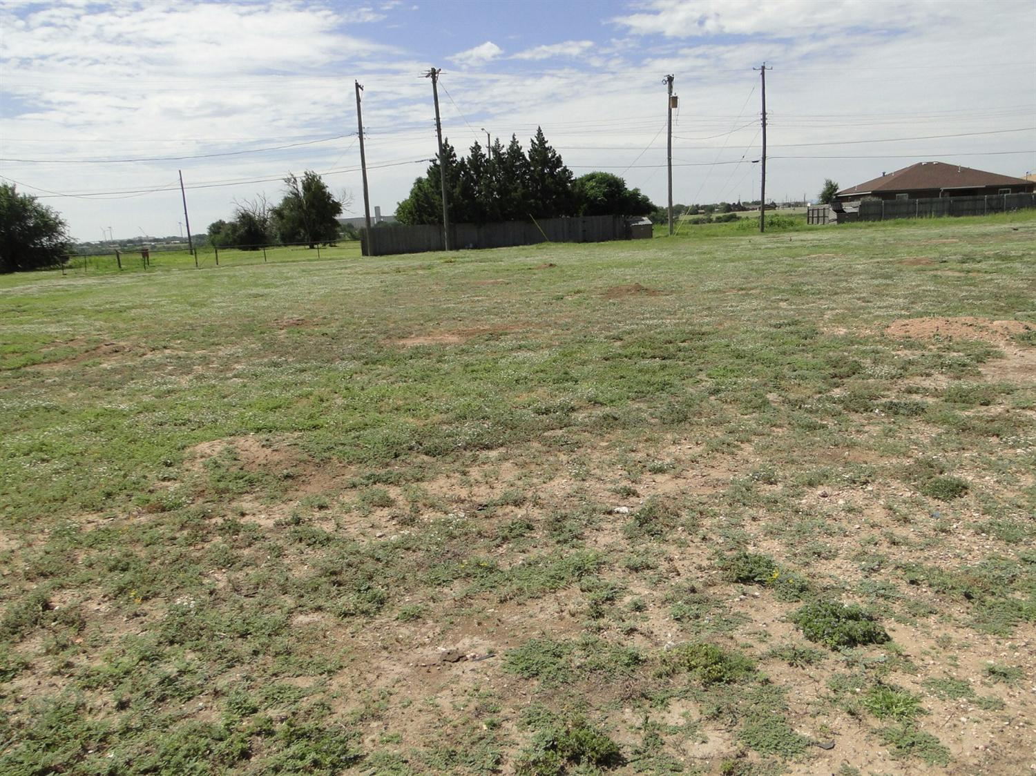 Lot is approximately 50x150. 15 feet on corner is right of way belonging to the City of Lubbock