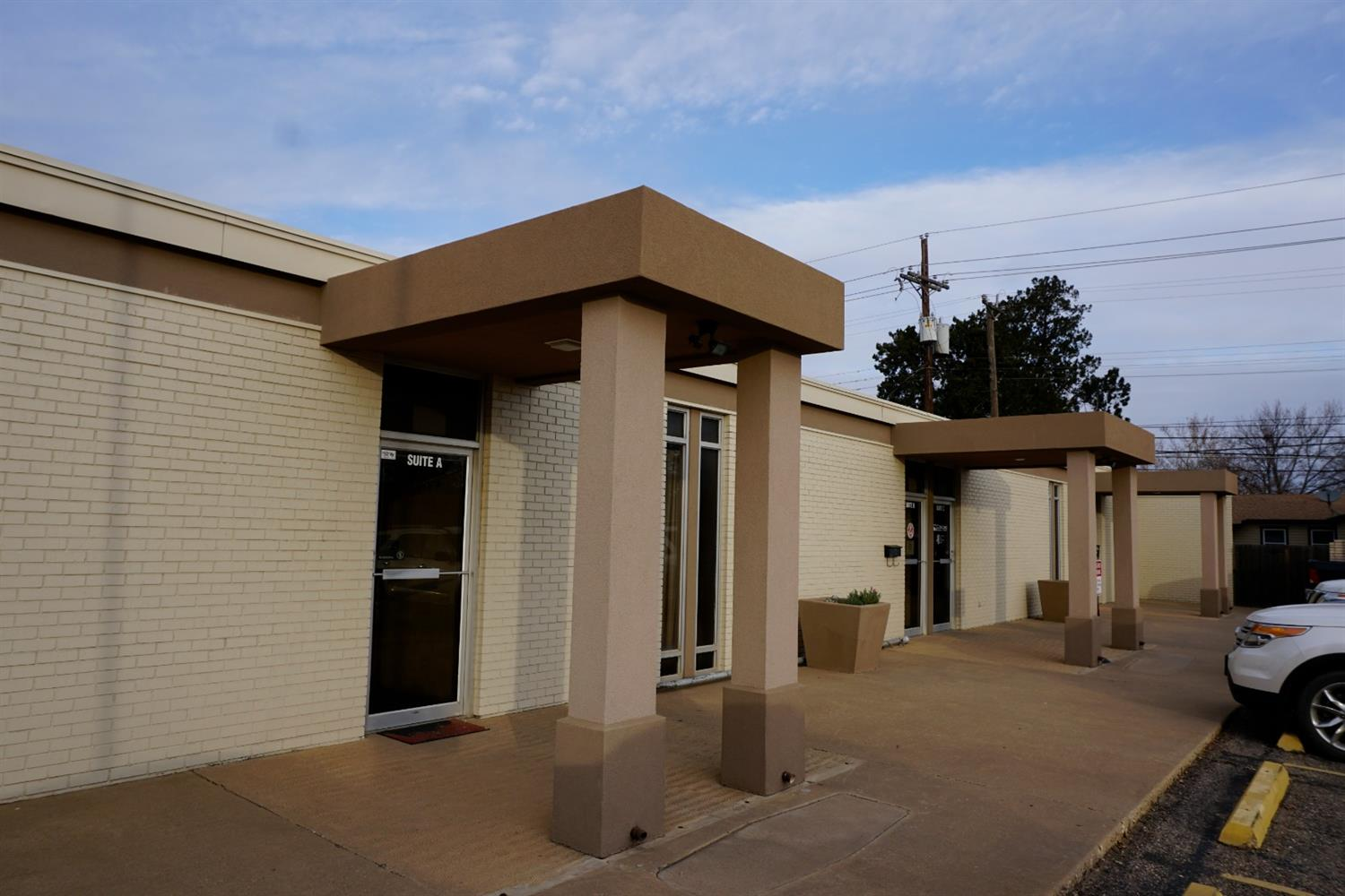 Multi-Tenant Office Building For Sale; Great investor or owner occupant opportunity; Two suites currently for lease formerly occupied by owner's business; Several suites have been remodeled; Kitchen / Break Room; Private restrooms in each suite; Electric individually metered