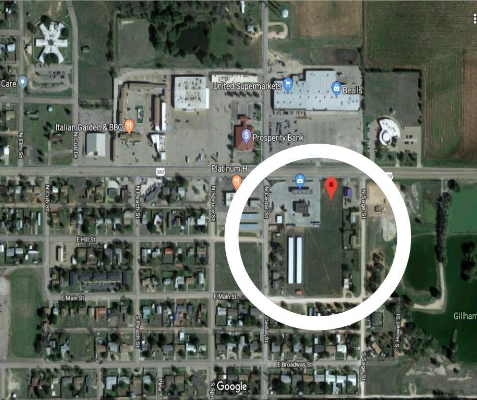 3+ acres for commercial use on highway frontage, great location