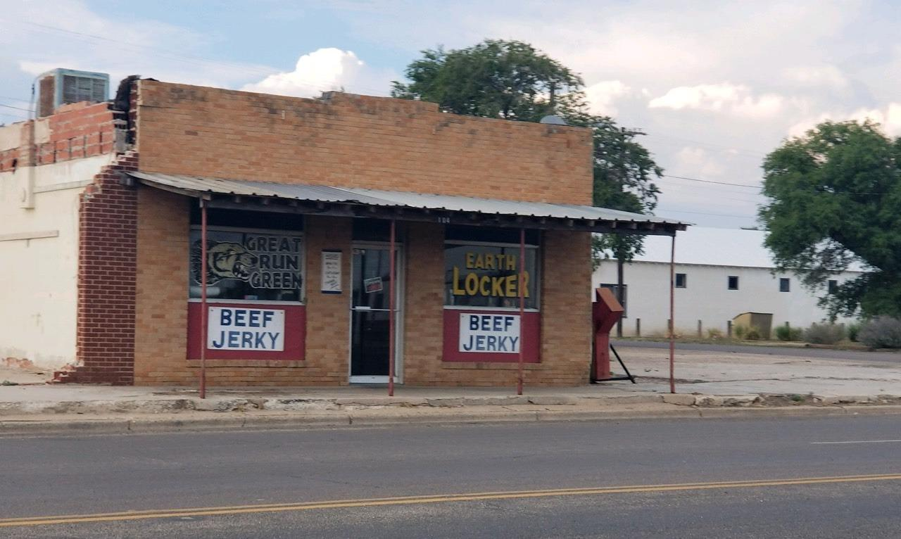 This commercial property is located in Earth, TX.  There are a total of 8 lots, 5 are vacant, 2 lots are for parking and 1 lot has a commercial building used for a Meat Locker business.  Please call for any additional information.