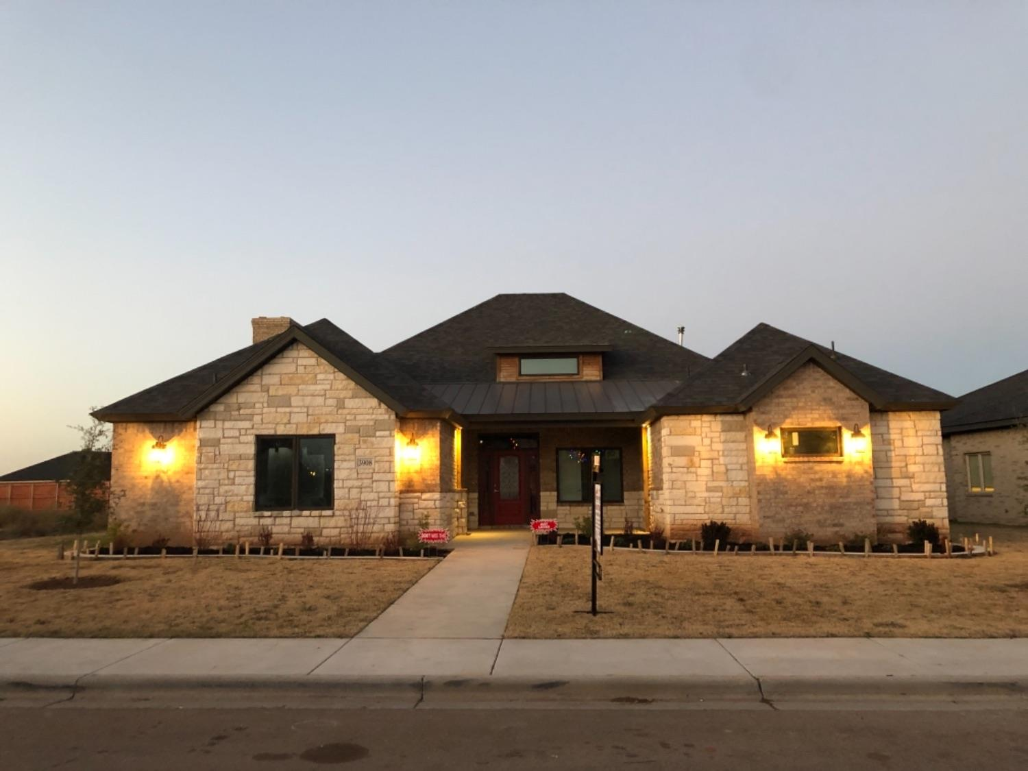 Come see the beautiful design by Lubbock Creative Luxury Homes that blends modern luxury with a bit of country comfort. With one of a kind special ceilings, recess lighting, granite countertops, a welcoming outdoor patio perfect for entertainment and luxury style bathrooms, you'll be sure to feel right at home.