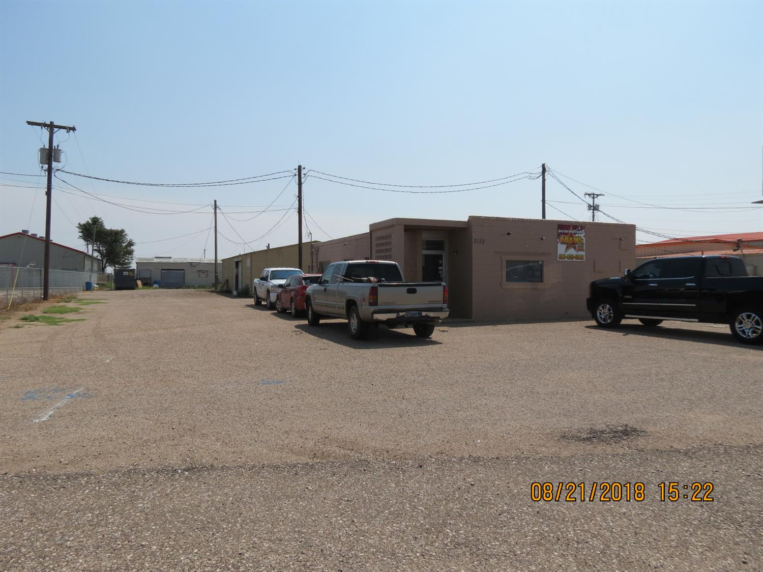 Great spot on the Slaton Hwy for a business!! 1200 Sq Ft of office space, new foam roof, 1,500 Sq Ft shop, plenty of room in the back for a stack lot or to build!