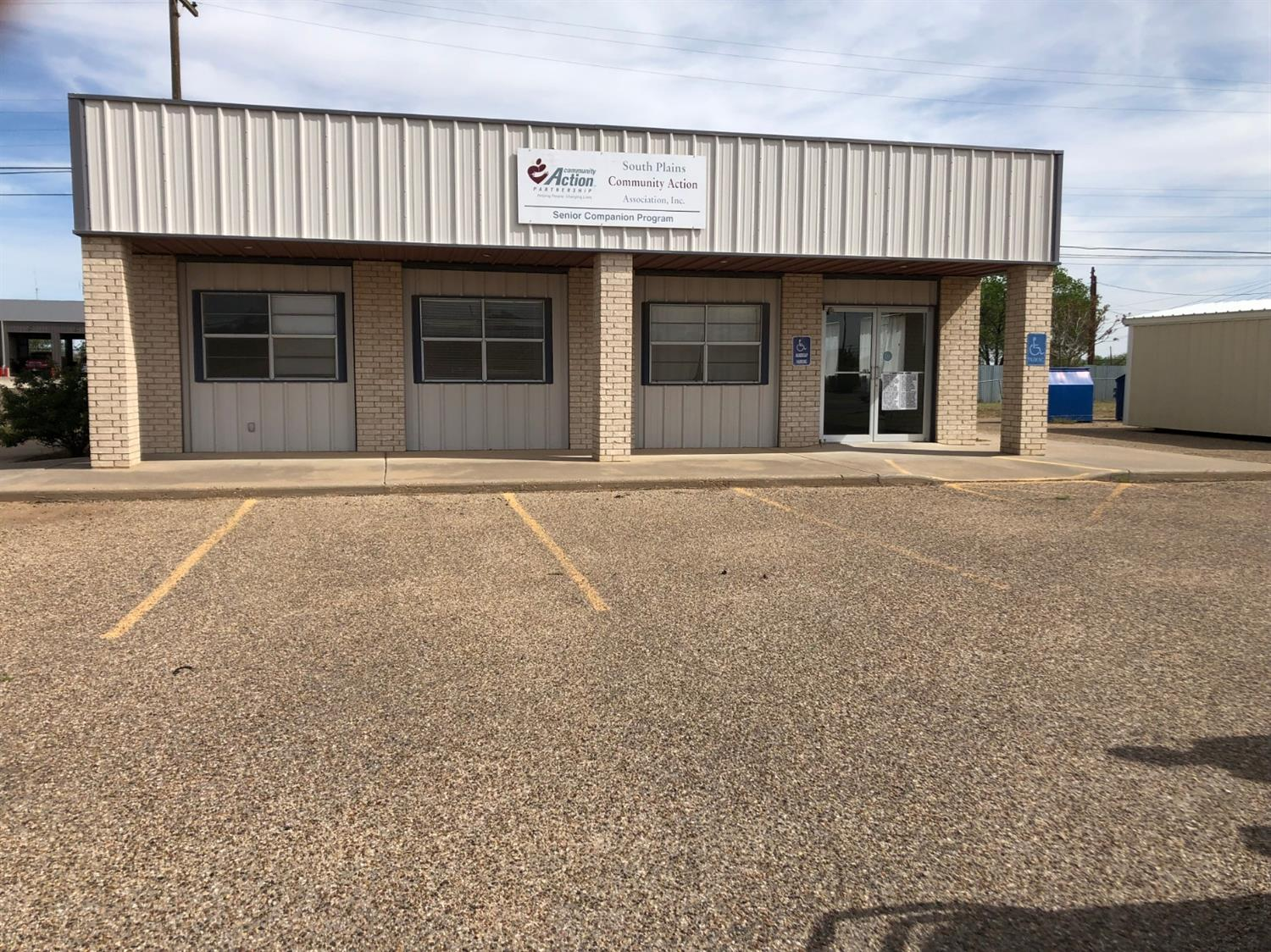 This building is in excellent condition with 2 handicap restrooms, 3 offices with reception area, total electric, lots of parking spaces all on pavement.