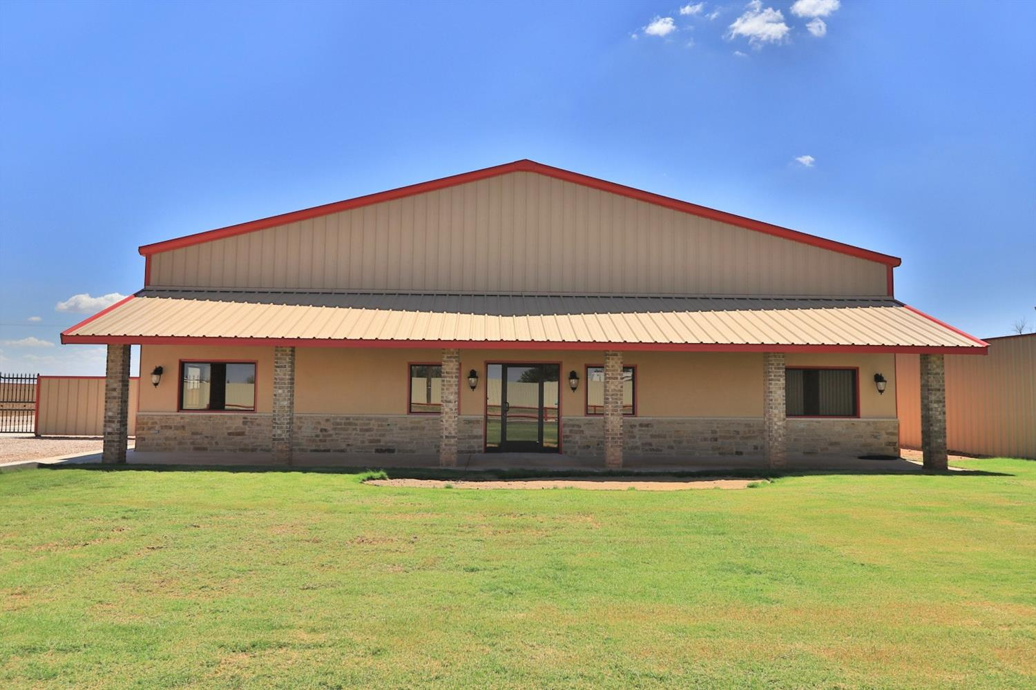 Newly constructed 4,800 square feet office / warehouse available for sale. There are 2 offices, conference room and break room. Expertly constructed with granite counters and beautiful epoxy finished floors. Front yard is planted in grass, and it has a sprinkler system installed. Above average construction quality and finishes. Sprayed Foam Insulation; 1 Acre Fenced Stack Lot - Crushed Rock; 3 - 14' Overhead Doors - Pull Through; Well and Septic (30- 50 Amp Service with Full H20 RV Hookup); Fiber in Place; Around the Corner From Lubbock Executive Airport