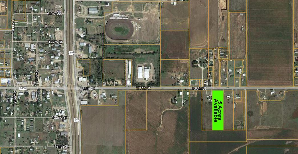 Available 5 Acre Tract with FM 1585 Frontage! Close to proposed Loop 88. Vacant lot located in Lubbock-Cooper Independent School District. Level topography ready for development. $4.11; Excellent Property Visibility; No Deed Restrictions; Water Available