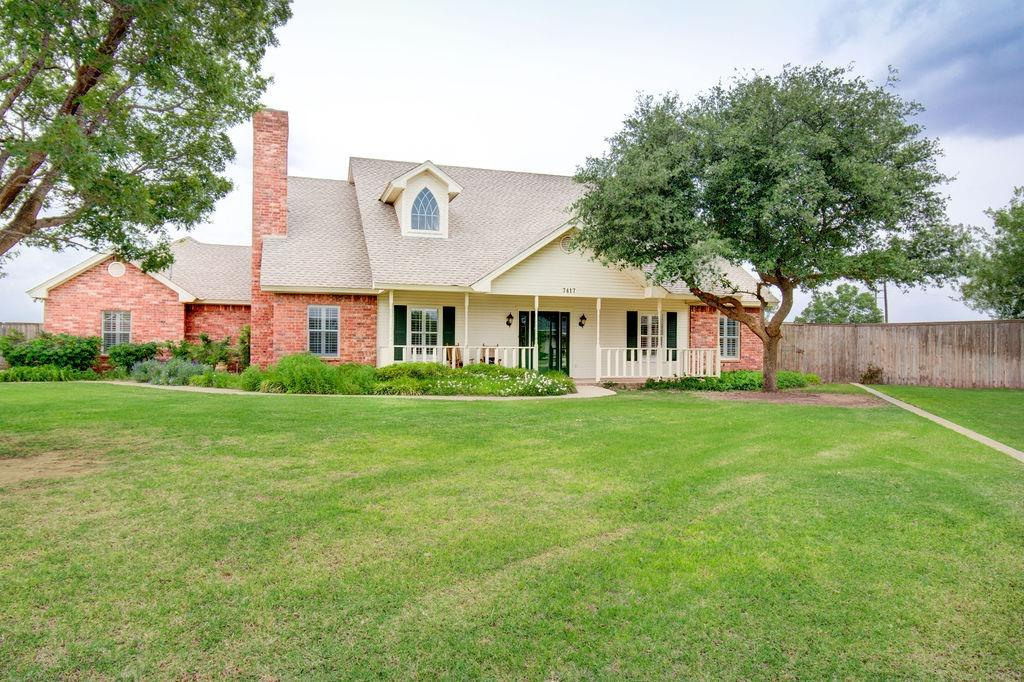 Welcome Home! There is a rocking chair waiting just for you. Enjoy incredible curb appeal, spacious landscaped lawn, brick floors, large kitchen, 2 story living PLUS a basement. Just in time for the swimming pool in the established Regency Park neighborhood near the New Upland Heights elementary in Frenship ISD. Offered at just $325,000, this one is sure to sell quickly. Contact your favorite Realtor for your private showing.