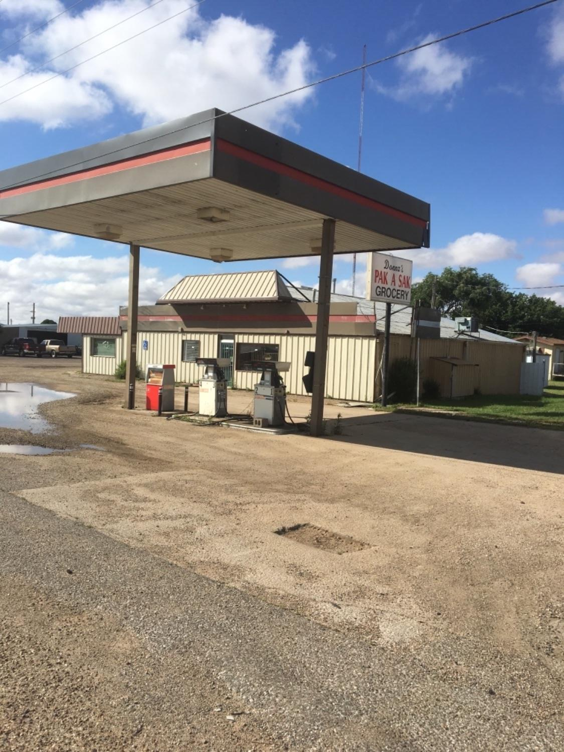 This building used to be a convenience store. It is still equipped to re open as a store. This building has a ton of possibilities. It comes with a walk in freezer. It also has plenty of office space. It sits on .66 acre and has a mobile home on the property. That would make it great for an investor.