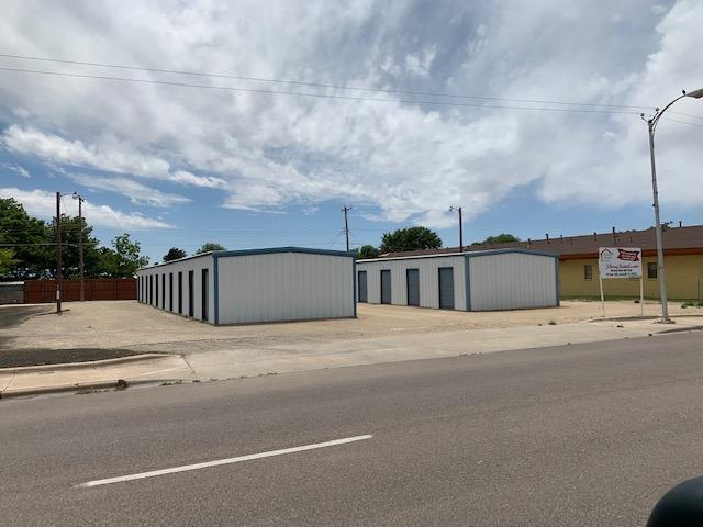 Self Storage business for sale in Muleshoe. Located on 1815 W. American Blvd. and 600-610 N 1st St. 128 10x10 units and one 10x20 used as an office.