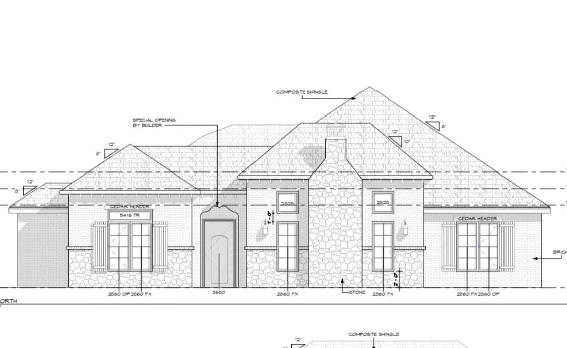 Beautiful home built by the award winning Clearview Custom Homes.  This home has a floorplan centered around a spacious great room perfect for entertaining, the kitchen features a large island, side by side fridge/freezer, and an isolated master suite.    Estimated completion November 2019.
