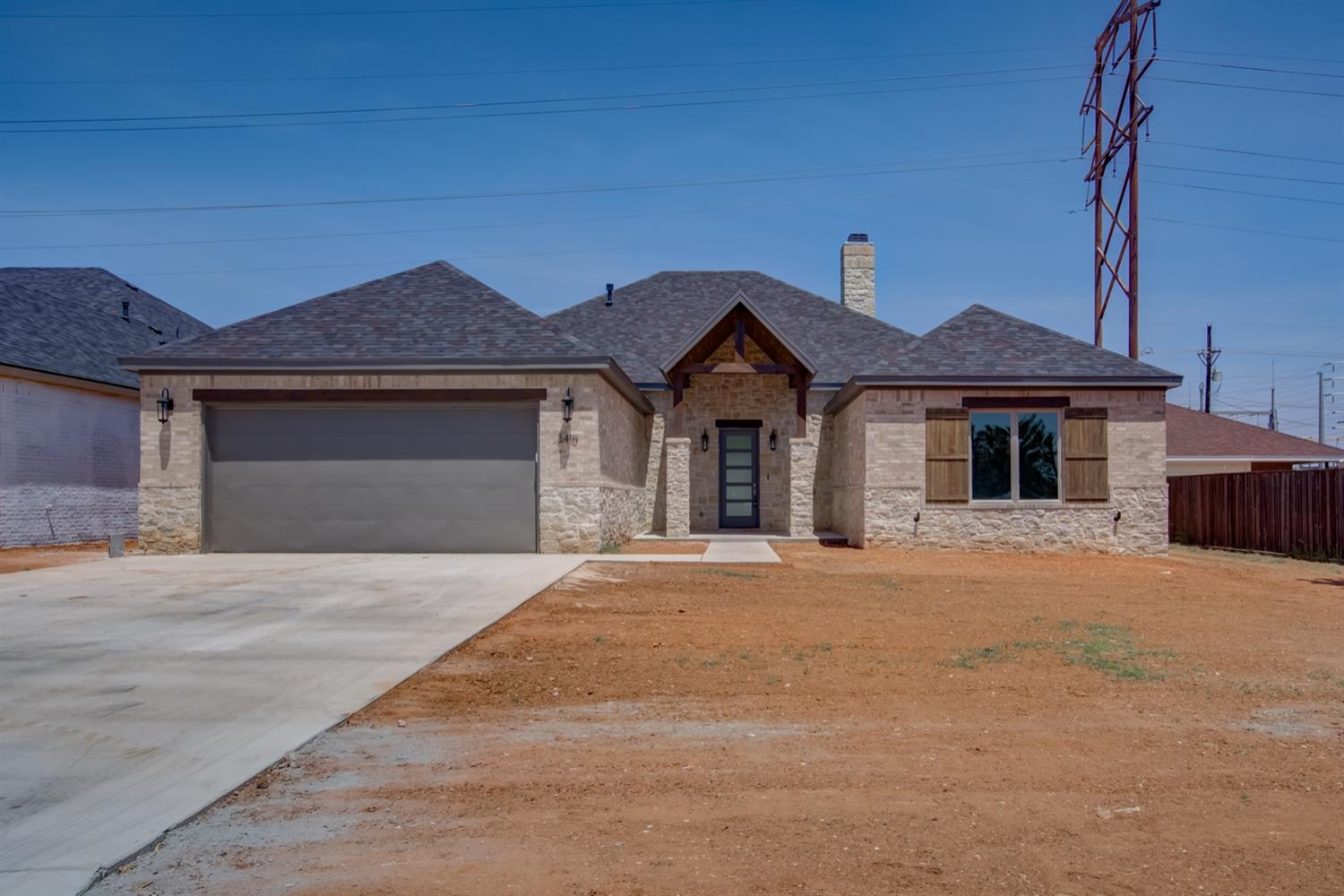 Looking for new construction in an established neighborhood?  Come check out this new 4 bedroom, 3 bath, 2 car garage home on an oversized lot.  Located in the desirable Cooper School District, this home will not disappoint.  The kitchen boasts stainless steel appliances, an island, and granite countertops.  Great designer colors through out.  The master bathroom has separate vanities, a large walk-in closet, a walk-in shower, and tub. Make sure to book your appointment to see this home!
