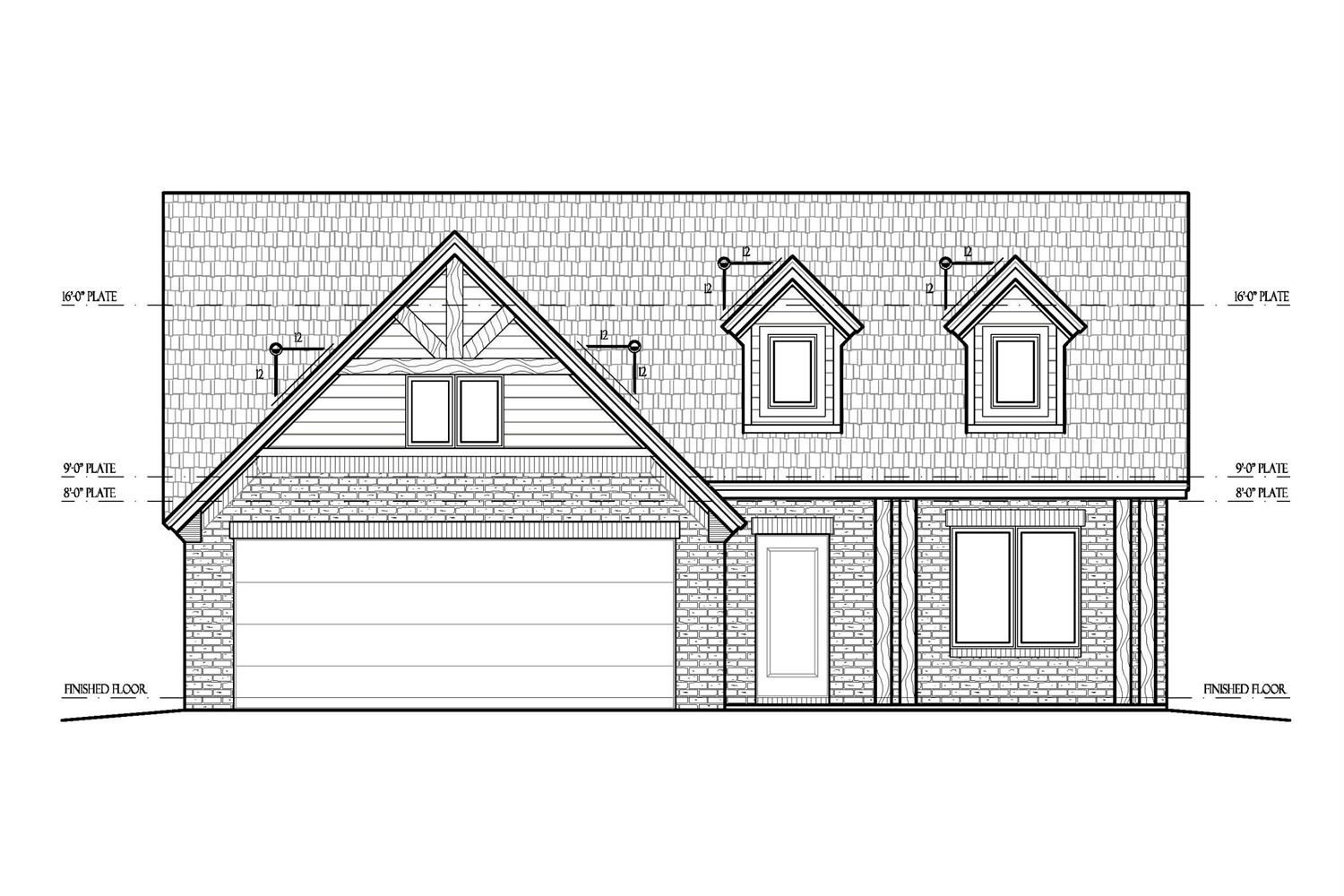 Beautiful New Construction built by Rod Burgett Homes! Open floorplan 3 Bed 2 bath in Uptown West.