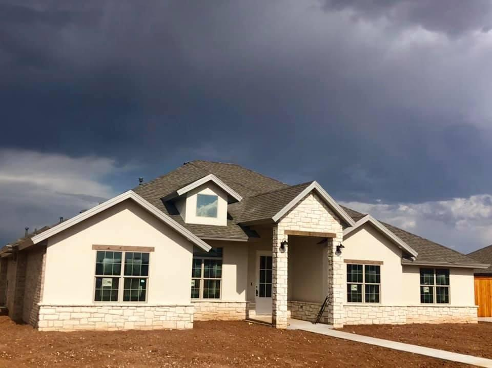 Beautiful brand new construction recently completed by Odyssey Homes in Sundance Estates. Located on a half acre, this open floor plan is perfect for families wanting some more space. Huge, open main area with a vaulted ceiling in the family. The master suite is isolated in the back of the home, and features his/her vanities and a large walk in closet. Guest bedrooms are on the other side of the home and have a Jack/Jill bathroom perfect for kids. This spacious plan also includes an office just off the family room. Amazing curb appeal as well. Don't miss this one!