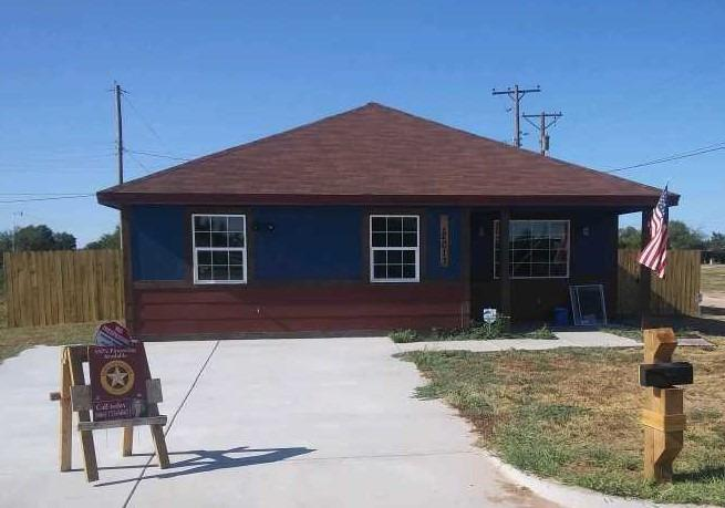 New Construction, Completed and ready for buyer. Tile in Wet areas, wood flooring, and carpeting in bedrooms.  Each bedroom will have its very own restroom. The interior has open floor plan with breakfast bar. Yard will include sod and already fenced.