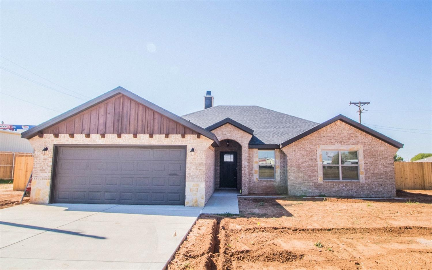 New construction in New Deal! This 3 bedroom 2 bath home is made for entertaining! The open concept living room and kitchen are complete with a bricked fireplace and built ins. Escape to a large isolated master that features his and her closets and an oversized walk in shower. The large laundry room includes a media closet, room for a fridge, and a built in mud bench!