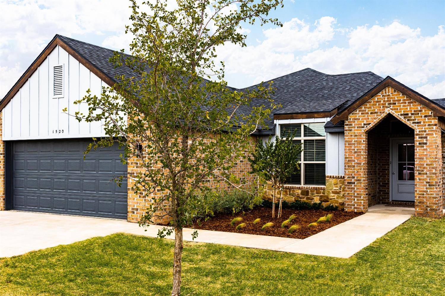 Just Completed! This BEAUTIFUL New Construction Ventura Homes 4 Bedroom, 2 Bath, 2 Car Garage WITH a 20 X 30 Bricked SHOP with Overhead Door in Fabulous Cedar Park has what you have been looking for! Open floor plan with Vaulted Ceiling & Stone Surround Fireplace! Kitchen offers Granite, Spacious Island w/ Pendant Lighting & Seating for 3, Stainless Steel Appliances including Microwave & Gas Range! Isolated Master Suite with Office Nook, Double Granite Vanities, Walk-in Closet, Tiled Shower & Soaking Tub! Guest Bedrooms offer Special Ceilings & walk-in closets! Over-sized Fenced Backyard with Covered Patio, Sprinklers, Sod & Amazing SHOP! Additional Features include 2 inch Faux Wood Blinds, Designer Hardware, Spacious Walk-in Closets, Built-in Linen Storage in Baths & Laundry, Full Builder's warranty...walk to Park! Close to Restaurants, Shopping, Medical Center & University! Come see what the Ventura Homes Difference is all About!