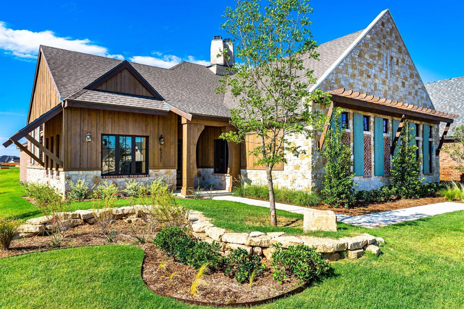 Stunning 4/3/3 New Construction by Ventura Homes with Bonus Room in the Trails! Walk into special ceilings, custom beams tons of natural light & open floorplan! Amazing Kitchen offers 2 gas ranges & double ovens, huge island, windows, walk-in pantry, side by side Fridge/Freezer & great storage space! Isolated Master Suite with special ceilings, double vanities, soaking tub, walk-in shower & walk-in closet with built-ins & 3rd row! Other bedrooms are spacious & offer walk-in closets, Jack-in Jill Bath & great storage. Heated & Cooled Bonus Room with French Door perfect for 2nd living, playroom or office & opens to backyard with Outdoor Fireplace & Pergola! Low maintenance fenced backyard perfect for entertaining! Fully landscaped, Sprinklers, Window Treatments & 1-2-10 Builder Warranty!  Walk to both neighborhood parks, close to shopping, Restaurants & Marsha Sharp! Frenship ISD! Check it out before its too late!