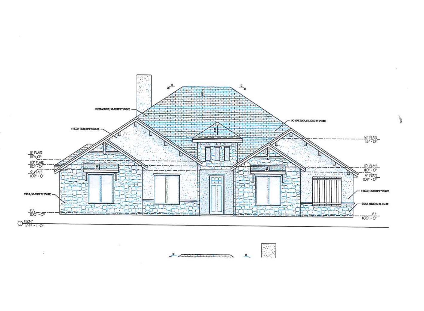 New Construction Under Way!  Home is going to be Amazing!  Home is located in New Home School District. 2432 SF .. Located on 2 Acres! Builder has just started this home in September 2019.  Home is a 3/3/3 with a Bonus Room to fit your needs as the Home Owner!  Home is just about 3 min from the school.