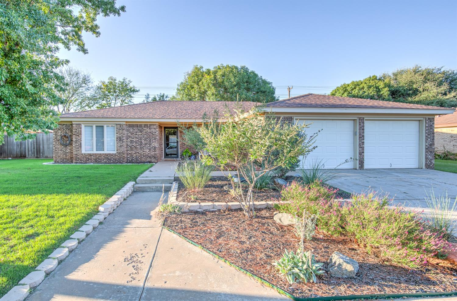 Previous owner did a fabulous job updating; carpet only in bedrooms;striking kitchen has great color and countertops, stainless appliances, large breakfast area, pantry;master bath has spa tub and large shower (new with previous owner)plus a large closet;  guest wing is very unique - bonus room attached to 3rd bedroom would be perfect for play area or study area or even a parent that lives with family would have their own living area.  Formal dining looks into family room - wall has been removed.  Backyard is very nice and inviting  Don't miss this rare find for this  price!!!
