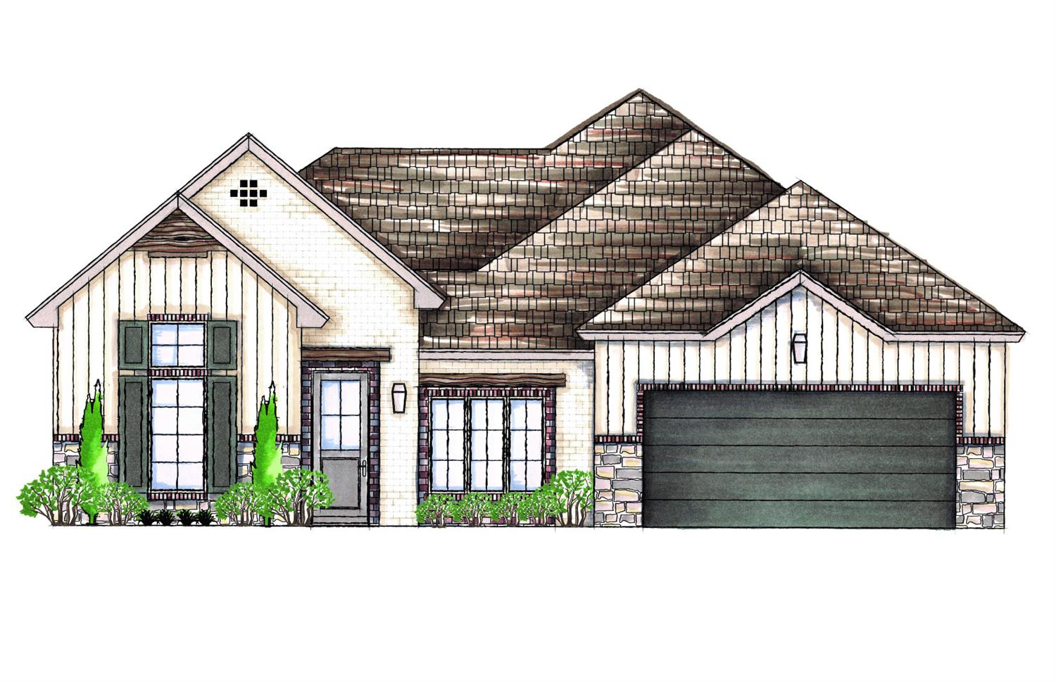 Beautiful 3/2/2 in desirable Stonewood Estates by award winning builder David Rogers Homes! This well designed floor plan features a large family room with vaulted ceiling, spacious kitchen, great natural light, and large back patio. The isolated master suite is sure impress with built in linen storage, separate tub and shower, and huge walk in closet. Don't miss your chance to make this beautiful home yours!Call builder for more information or to schedule a tour of this beautiful home.