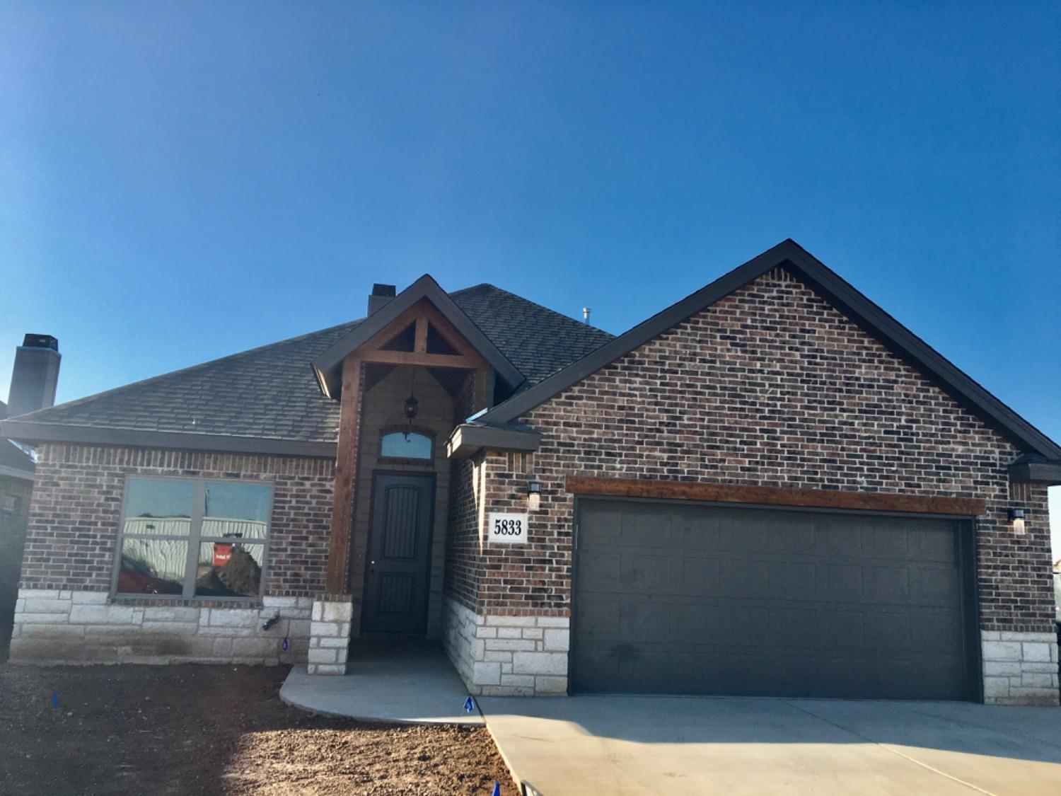 This 3 bedroom, 2 bath and 2 car garage is move in ready in the new Uptown West Subdivision.  This home has been built by trusted builder, M & M Homes.  This beautiful home is also located in the much desired Frenship school district.  Your client will love many of the custom  features in this open concept home.