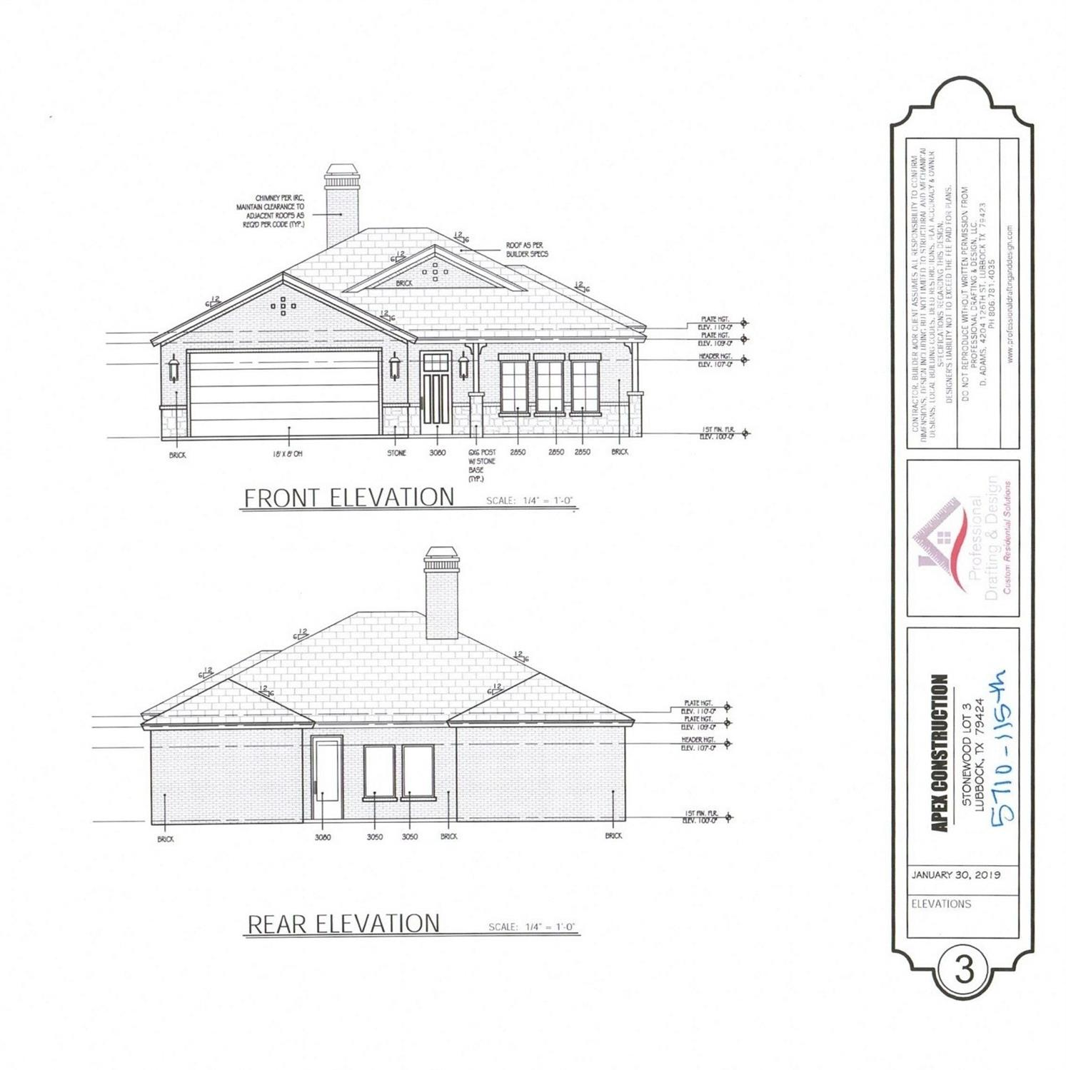 UNDER CONSTRUCTION - pick your finishes!  This 4 bedroom, 2 bath home in Stonewood being built by prestigious Apex Construction could be yours to personalize!  Estimated completion is set for February 2020.   Give us a call to see how you can have a hand in each step of the custom home building process!