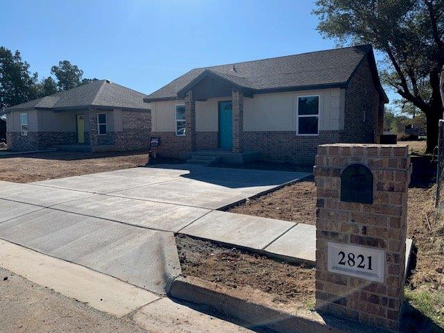 New construction ready for its new owner. Close to Texas Tech University and the medical district.