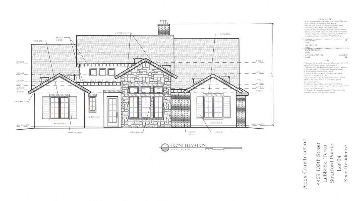 New construction under way in Stratford Pointe by Apex Construction!  This 4 bedroom, 3 bathroom, 2,464sf home is just getting started and can be yours to customize.  Estimated completion is June 2020.  Call for more details and how you can be involved in the build & design process from the ground up!