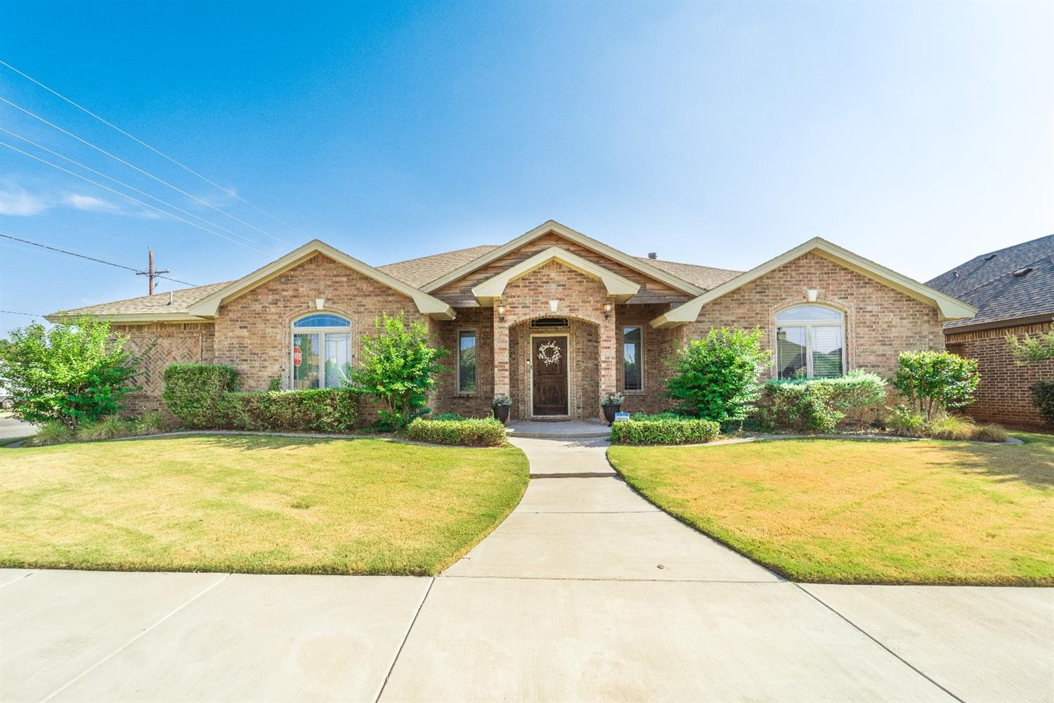 Incredible home in Bacon Crest! 4 bedroom 3 bathroom with an Open Concept floorplan & Chefs Kitchen with a walk-in pantry. Isolated master that offers a closet big enough for him and her! Large covered patio perfect for watching the West Texas Sunset! Don't miss out on this one!