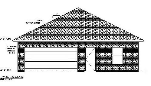 NEW Construction Estimated May 2020 completion , Building including a kitchen appliance package Stove Refrigerator, dishwasher and microwave. 3 bedroom 2 bath, Granite counter tops, painted cabinets, Spacious master with walk in shower, hall bath will have tub shower combo. Great opportunity to own a brand new home.