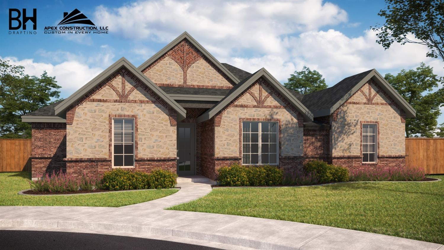 This spacious home is under constructions and set to be completed in June 2020. This home will offer vaulted ceiling in the master bedroom, spacious walk in closets. Beautiful open concept floor plan with a dining area off of the kitchen. This home has 4 bedrooms, 3 bathrooms and a rear entry 2 car garage.