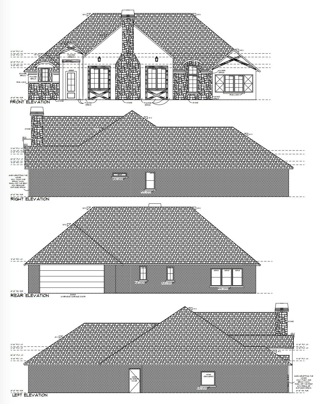 Just the place for your family to call home!  New construction in Stratford Pointe built by Johnny Mosser. You'll love all the neutral colors throughout the home. Open concept living space with 12 ft ceiling. Kitchen will have painted white cabinets with Quartz counter tops, stainless steel appliances and a large pantry with a barn door. Vinyl plank flooring in all common areas, carpet in bedrooms and tile in baths. Living area will have some built ins for storage with the focal point being the floor to ceiling stone fireplace. Landry room with storage, sink and extra freezer space. mud area upon entering from the 2 car garage. This home has foam insulation for energy efficiency.   Large covered back patio great for entertaining. This great home is located on a cul-de-sac and looking to be complete at the end of July.
