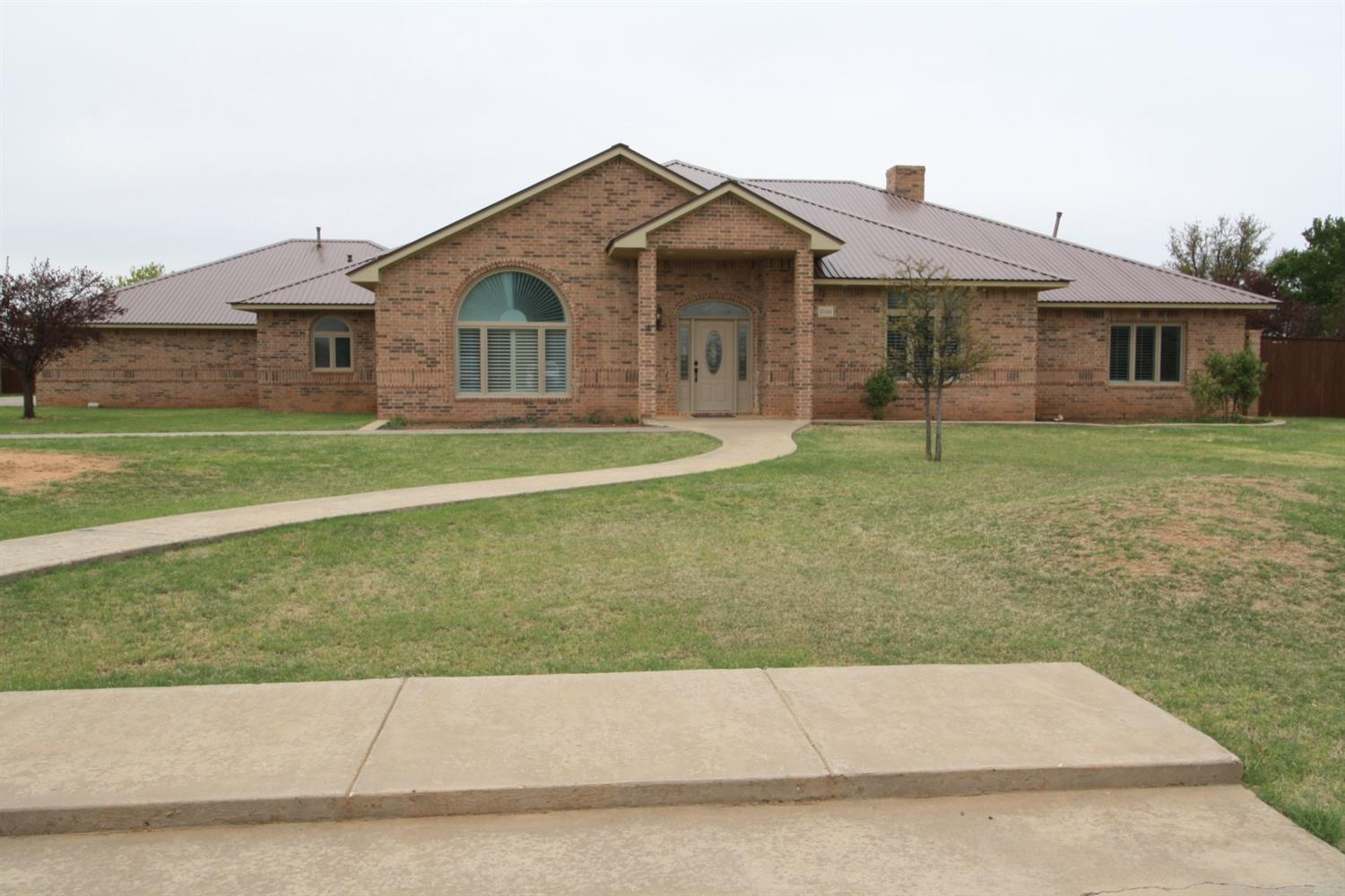 $67,000 BELOW recent appraisal!! This beautiful home in Highland Oaks is a steal ~ 4 Bedrooms ~ 3.5 Bathrooms ~ 3 Car Garage ~ .9 Acres ~ Office w/ Built-in's ~ Formal Dining Area ~ Bar w/ Kegerator & Wine Fridge ~ Large Kitchen w/ Gas Stove-top ~ Granite Counter-tops ~ Wine Rack ~ Huge Walk-in Pantry ~ Open Living Room With Plenty of Room For Family Gatherings ~ Isolated Master Suite ~ Spa Like Master Bath ~ Master Closet Wraps Around the  Tub ~ 3 Large Guest Bedrooms and 2 Additional Bathrooms ~ Basement Has Brick Walls & Storage ~ Utility Room Has More Storage Than You Know What to do With....Sink, 2 Walk-In Pantries & Room For Freezer ~ Walk Outside into the Gorgeous Oasis...Huge Covered Patio ~ Indoor/Outdoor Pool w/ Slide, Waterfall, Bar, & Bathroom!!  New Well!  Oh, And Did I Mention..INSTANT Equity!!