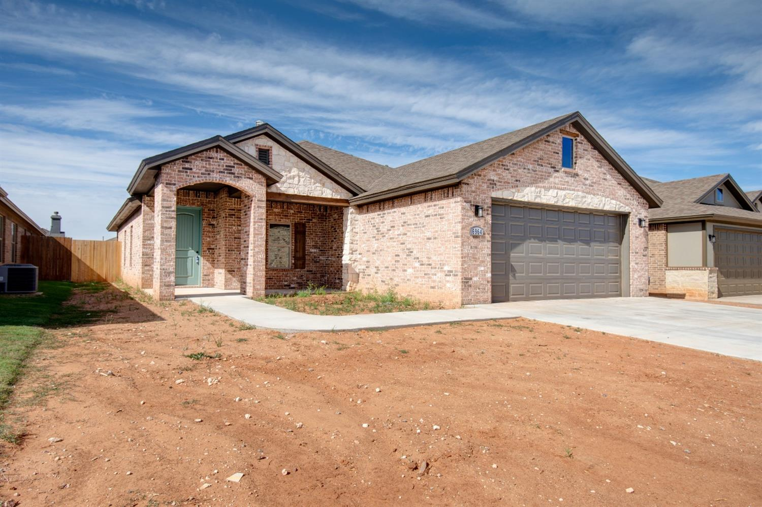 Outstanding new construction by Lifetime Homes, LLC. This amazing 4/2/2 in Bushland has everything you need to call home. Beautiful open concept living area opens up to the spacious kitchen with large granite island perfect for cooking and entertaining. Large pantry and plenty of cabinet space makes cooking and storing easy. Step into the spacious isolated master suite with his/hers sinks, a large jetted tub and separate shower and plenty of closet space. 3 extra bedrooms gives plenty of space for the whole family. Don't miss the large covered back porch perfect for grilling and relaxing. Lifetime Homes has left no detail overlooked. With over 20 years building experience you will surely be pleased at the high quality construction. Make this your home today. Sod and sprinklers to go in before move in.