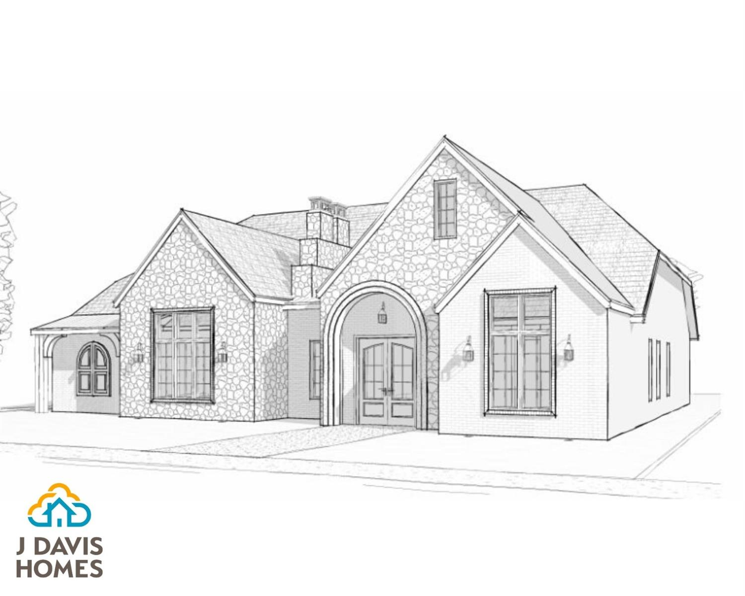 New construction from J Davis Homes in The Estates at Vintage. 4 Bed, 3 bath, 3 car garage (2 attached and 1 detached), plus a large media room that would also make a wonderful home office! Scheduled for completion by August 1, 2020.