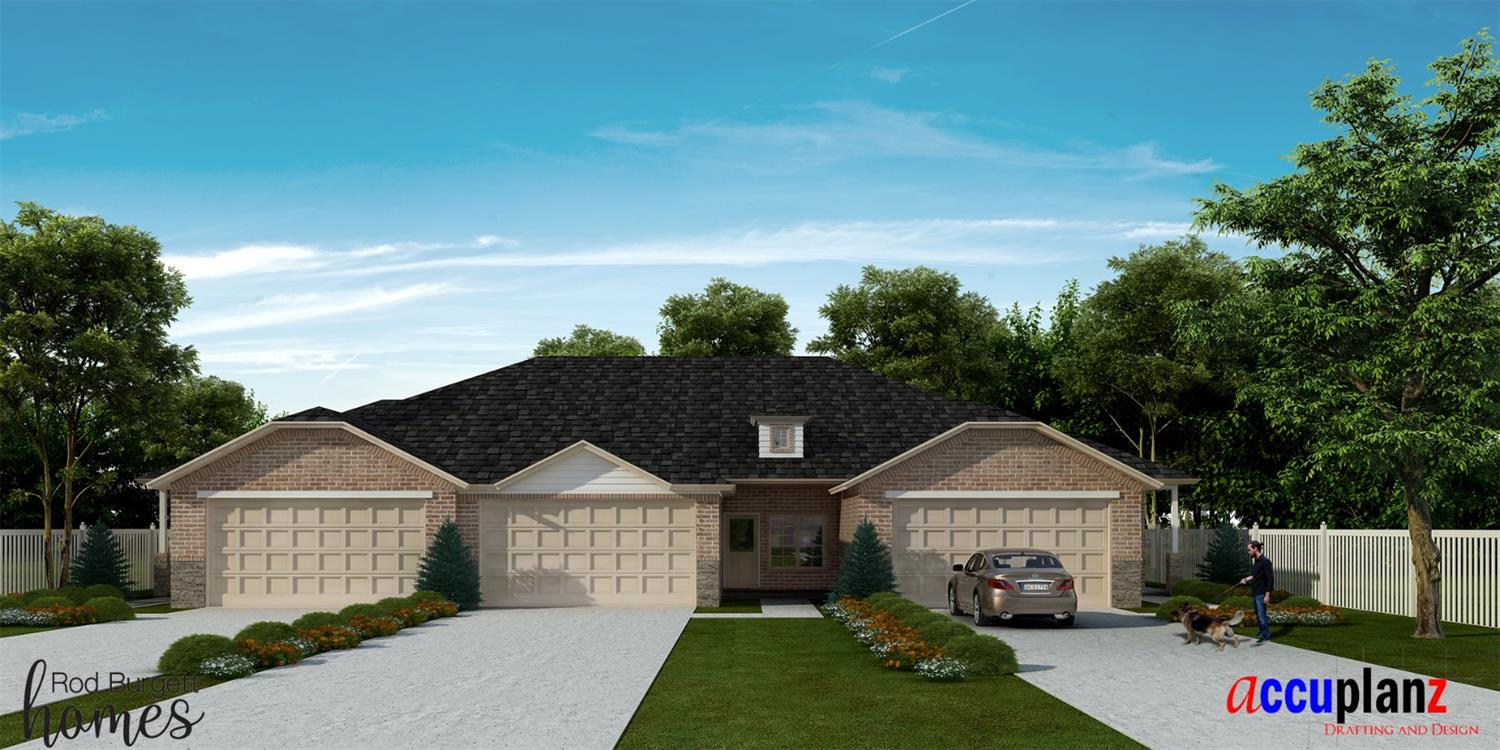 Beautiful townhome in Lincoln 16, Lubbock's newest neighborhood in North Lubbock. Beautiful design paired with Rod Burgett quality, this home is made for modern living with low maintenance.