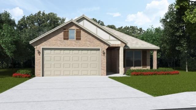 Brand new construction in Cambridge Way. 3/2/2 open floor plan home with nice living space and beautiful upgrades. Great kitchen with granite counter tops, stainless steel appliances, freestanding gas range and 2 faux wood blinds included.  Good neighborhood, sits in a very convenient  area, close to the freeway, making everything in the area easy to get to quickly. Kingston plan