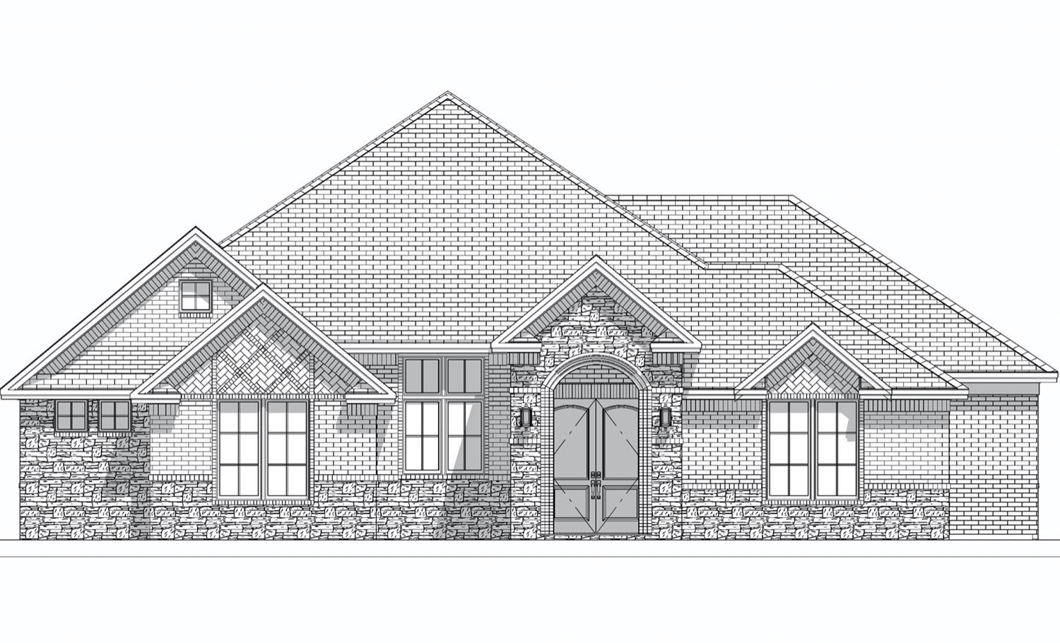 Gorgeous NEW BUILD located inside of The Ridge! This is a 4 bedroom 3 bath with an office that will be perfect for entertaining. This home will be ready in about 60 days and WILL sell fast!