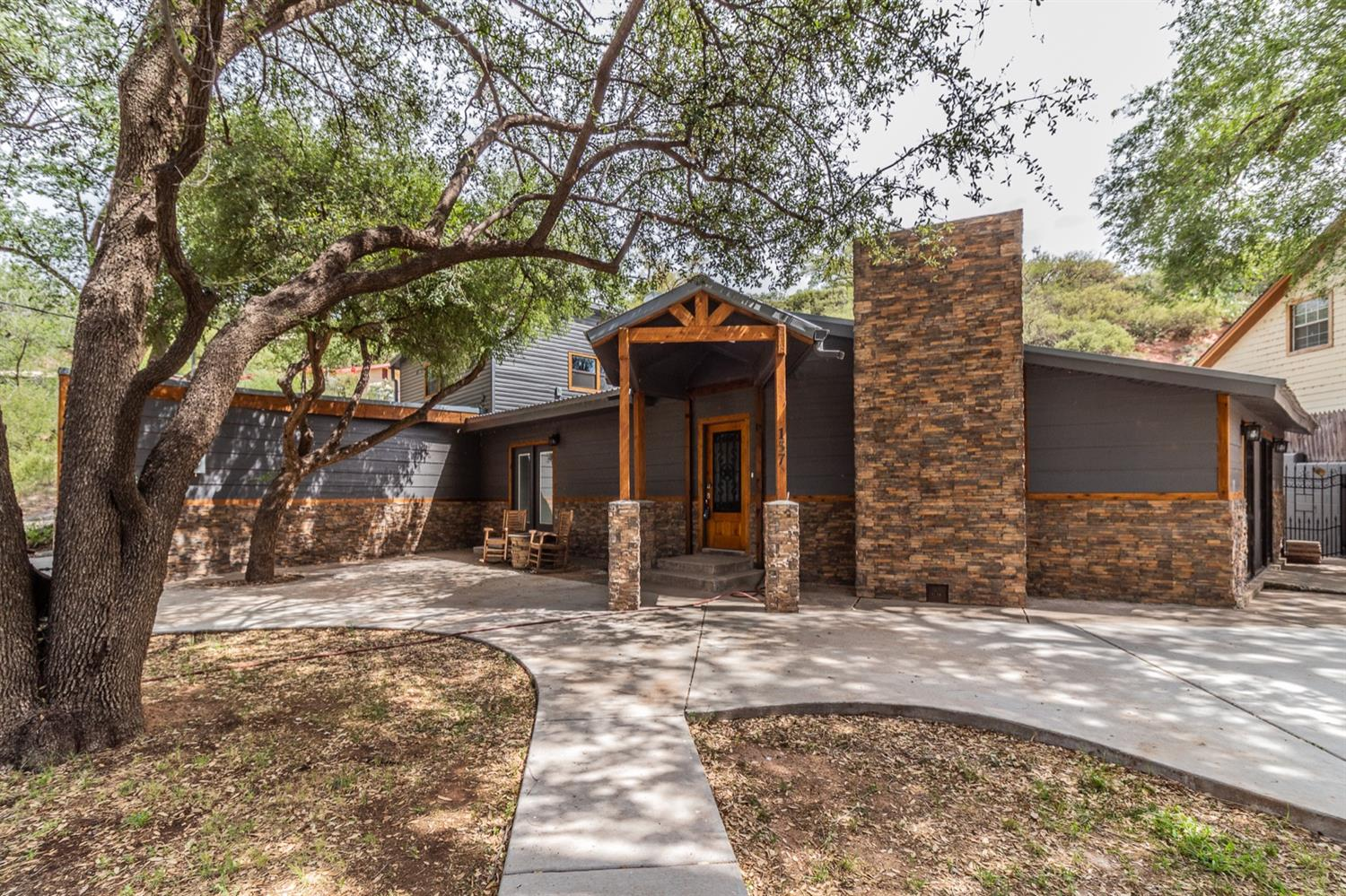 Welcome home to this incredibly remodeled home at Buffalo Springs lake! With 4 bedrooms, 4 bathrooms and 2 living areas plus an over sized two car garage this home has it all! Sitting on one of the bigger lots in the lower canyon it has all of the space to entertain! Walk out back to the amazing pool and cabana for perfect relaxation or walk out your french doors of your master bedroom to sit and enjoy your morning coffee. This home is the perfect combination of entertaining and serenity.