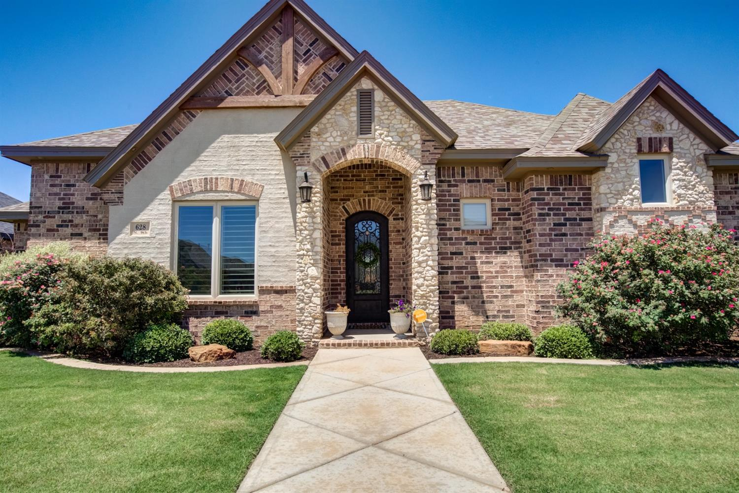 Welcome home to this spacious and beautiful home in Preston Manor and Frenship ISD.  This expertly designed home was a former Parade Home built by Dan Wilson Homes.Attention to detail is prominent throughout. 4 beds, 3 baths, and an oversized garage that has room for your golf cart or ATV. Tall, sunny windows  create a relaxing atmosphere as soon as you enter.  A windmill ceiling fan is the icing on the cake in this living area that has a remote gas fireplace.  A NEST controlled thermostat makes remote access to control the indoor temps effortless. Professionally landscaped with automatic sprinklers in front and back make maintenance a breeze!  Neighborhood Amenities feature pool, clubhouse, fitness center, tennis courts and a dog park.  Preston Manor is home to one of the best communities in Frenship ISD. Are you ready to make this Happy place your Home?