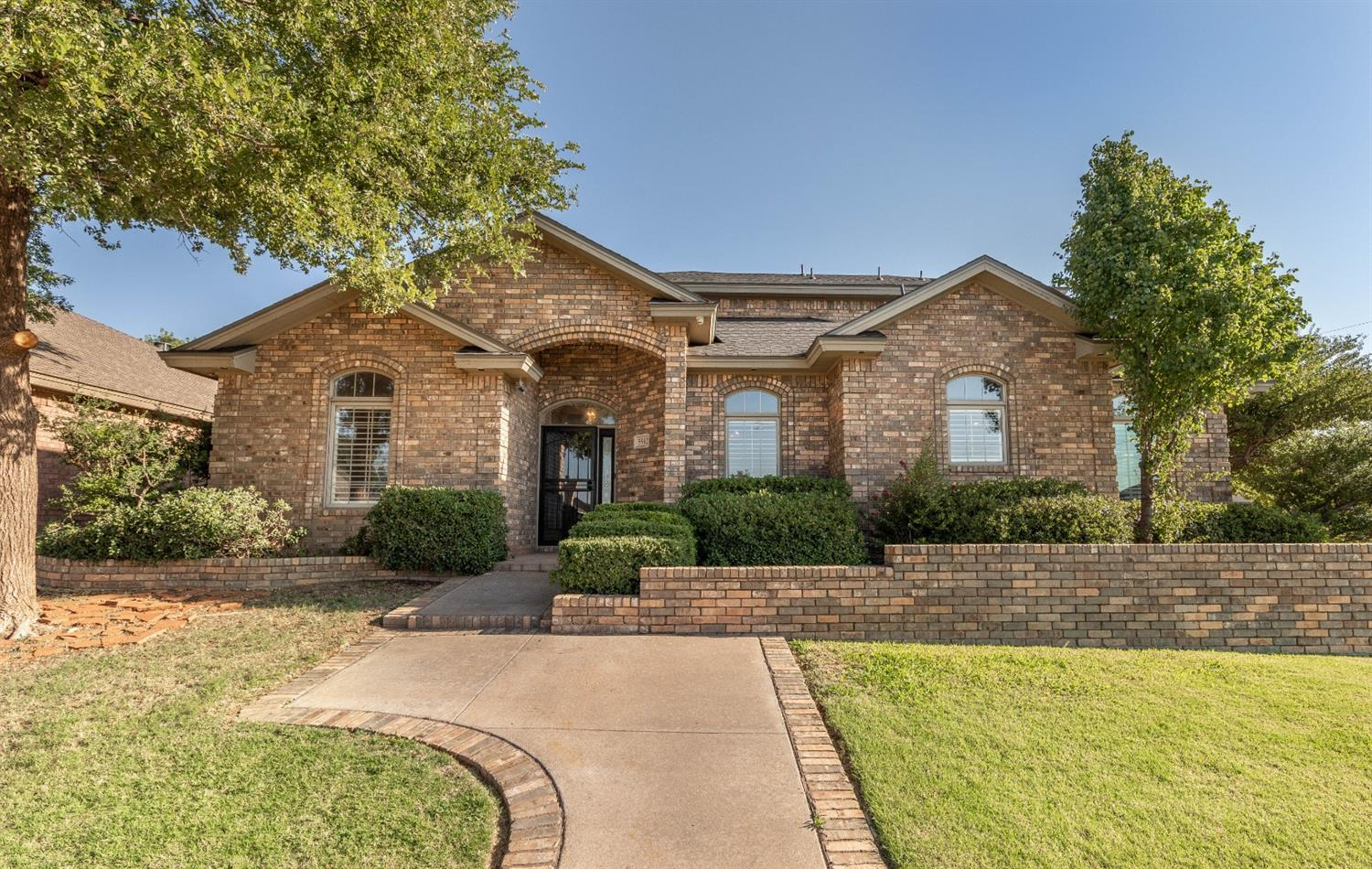 Beautiful home in Lubbock-Cooper ISD. Custom built in 2001 by Gerald Long and recently updated carpet, paint, plank flooring, new appliances, and new roof! Great floor plan with 2 dining areas, basement, covered patio, and beautiful landscaping! Call to see this one before it is gone!