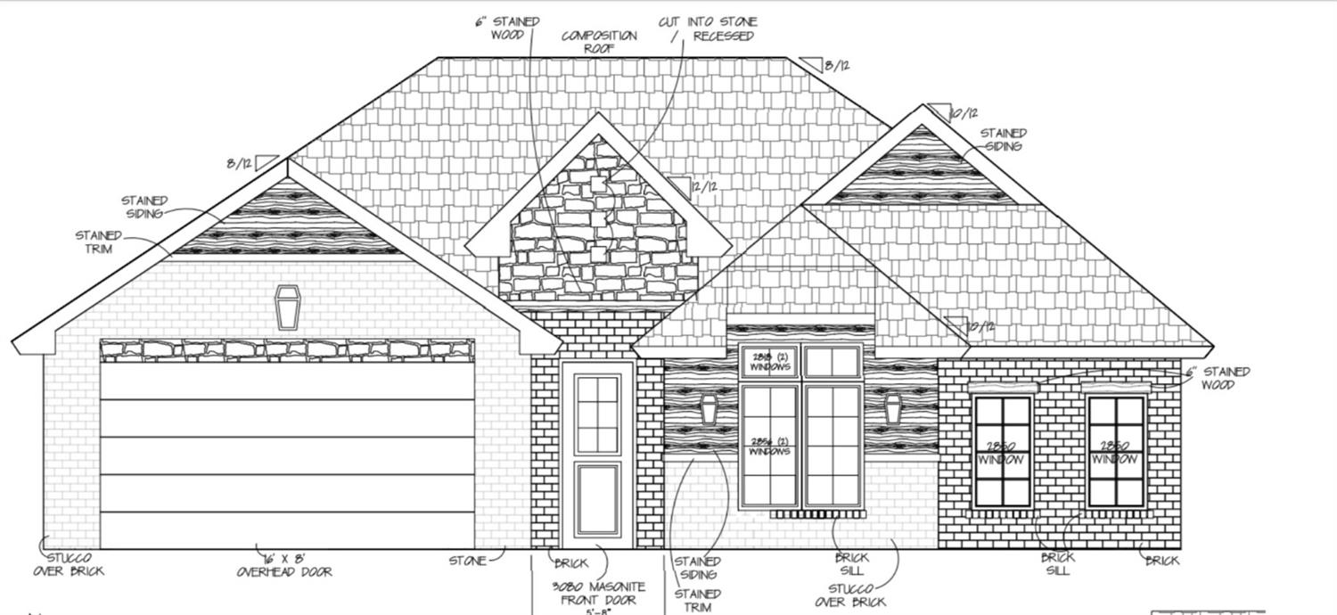 Southern Homes by Dan Wilson is proud to present The Ashford, a beautifully crafted new construction home for you and your family. Every home under construction has its own style and design, unique from its neighbor. You will be sure to find custom details and gorgeous finish selections throughout. Stonewood Estates is located south of 114th Street and east of Frankford Avenue. It is conveniently found in the Lubbock-Cooper School District. The newest retail stores, grocery stores and restaurants are just minutes away. Trusted home builder, quality construction and a wonderful new neighborhood...WELCOME HOME!