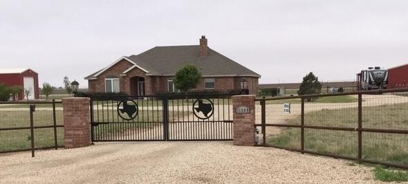 Great country property located in the county just 30 min from Lubbock. The 5.5 acres on the property are fenced. It has a Custom Built Home, 25x60 RV barn & 30x50 barn. The barn includes a work shop, & a livestock area. There is a fenced livestock area and a chicken coop. Garden area has 21 fruit trees. This home is perfect for Country Living.