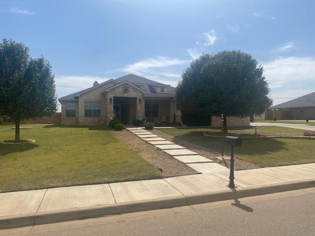 Shadow Hills Estates 4 bedroom, 3 bath with a 2 car garage and a shop that is 25X30 with garage door. the master is isolated and this property on a larger lot 32,171 Sq. ft with a covered patio, fireplace  and mature trees  There is also an Office  The shop has Electric, Water and a Sink