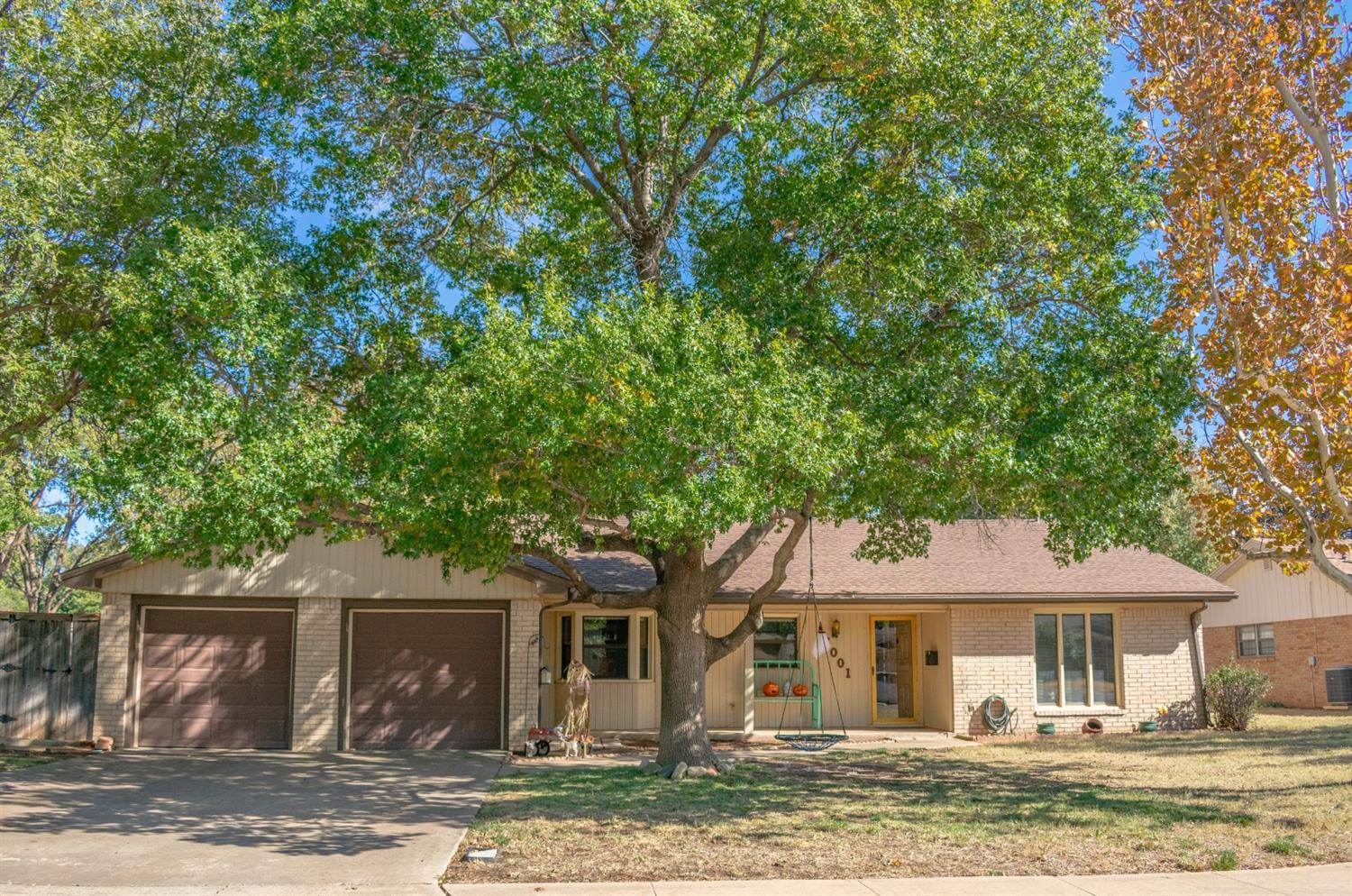 This is your chance to live on this beautiful tree lined cul-de-sac in Melonie Park! Just a short walk to one of Lubbock's finest elementary schools, Miller Elementary! Owners thought they would live here for years so they recently invested thousands of dollars in energy saving Solar Panels. Their loss is your gain.  High Cathedral Ceiling in  Living Area, Isolated Master Suite, Sunroom, Spacious Kitchen and Dining and so much more! Offered at just 197,900 this one is sure to sell quickly!!! Call your favorite REALTOR to see it today.