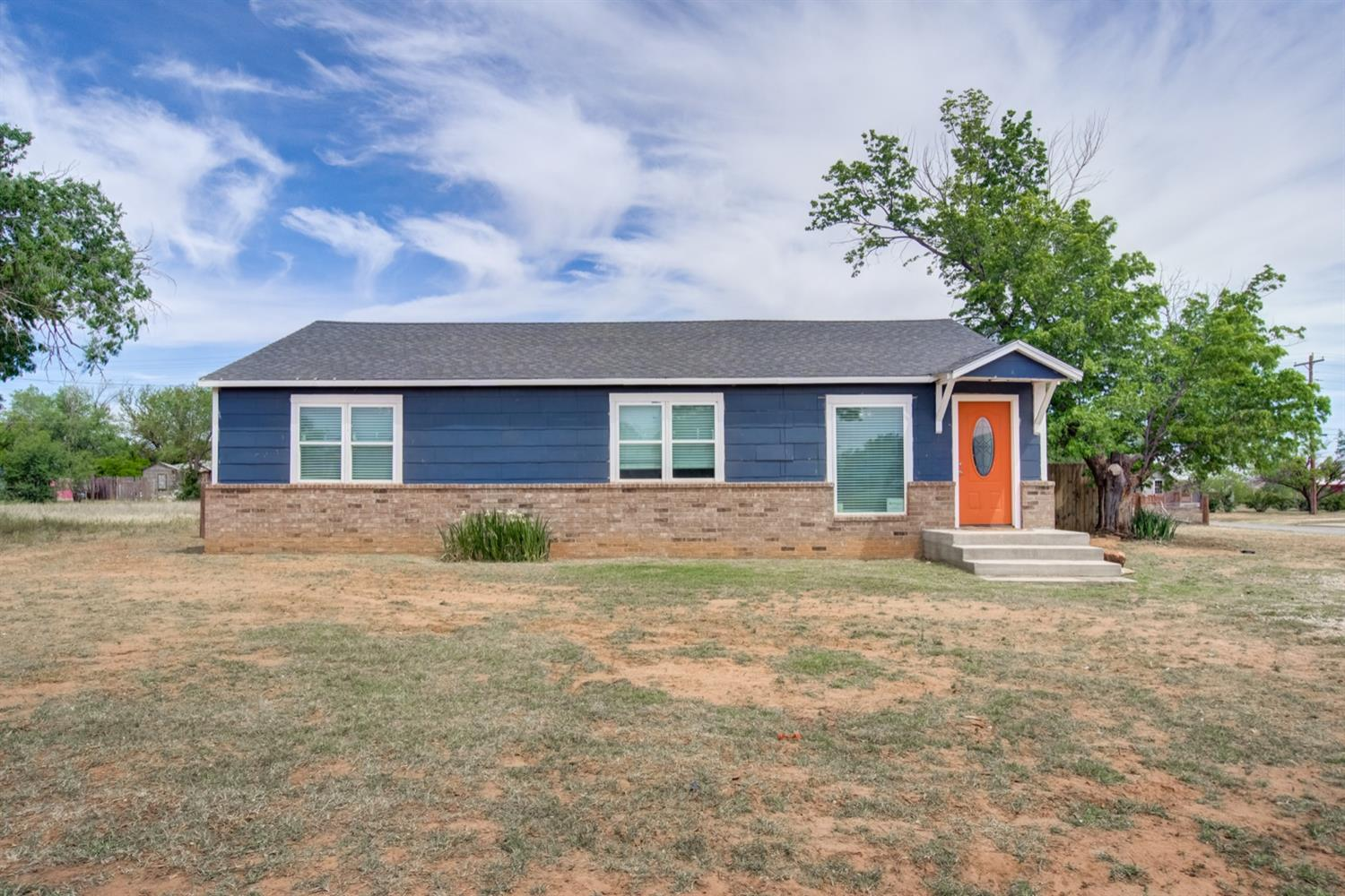 Across the street from Sundown school! Brand new metal fence and carport on 1/2 acre lot! New Central Heating and Air! New windows, vinyl plank flooring, paint and carpet. Yard has been leveled, and a $3,500 allowance being given by the seller for landscapig will give this home even more beautiful curb appeal!