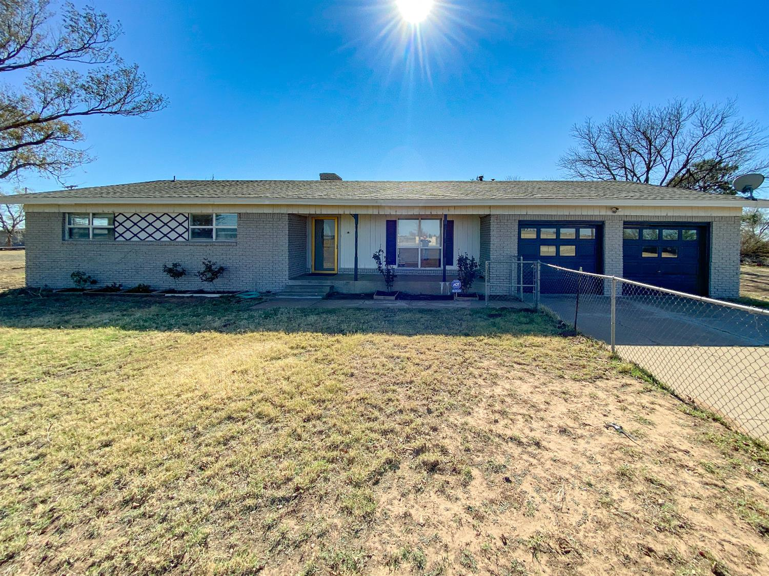 Hard to find in Cooper ISD, 2+ Acres of unrestricted land outside of city limits with large home and open floor plan. The property offers extra space around the home to build a drive through barn or shop.  On site septic, water well, and propane gas. No Deed Restrictions. Lot's of potential and value here, don't miss it!