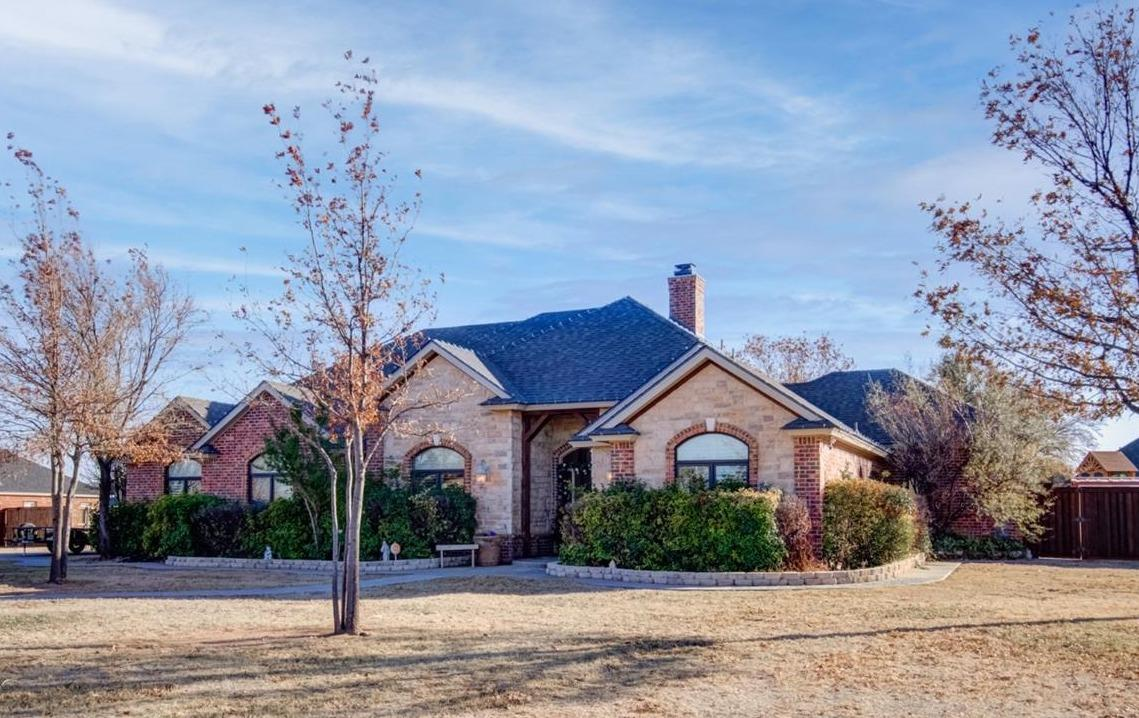 Don't miss this jewel boasting everything you could possibly want on over 1 acre in Highland Oaks! Live your dream in this custom estate w/over 4200 sq.ft. featuring 4 bedrooms, 4.5 bathrooms, private office, basement, gated pool, outdoor kitchen w/bar area and firepit, 484 sq.ft. pool house boasting kitchen and bathroom w/it's own private garage. 4 spacious living areas; hearth, formal & family & basement; formal & casual dining. Gourmet Chef's kitchen Side-by-side fridge/freezer, breakfast bar & working island adjacent to the family room with stunning fireplace with abundant natural light throughout. The sequestered Master offers a sitting area, full luxury en-suite with walk in closet, double vanities. R/O System, Security cameras, Surround sound. Private water & septic tank. Backyard entertainment for all ages. Great neighborhood w/wonderful family atmosphere. Golf cart community. Breathtaking sunrise & sunsets. We invite you to take a tour today!