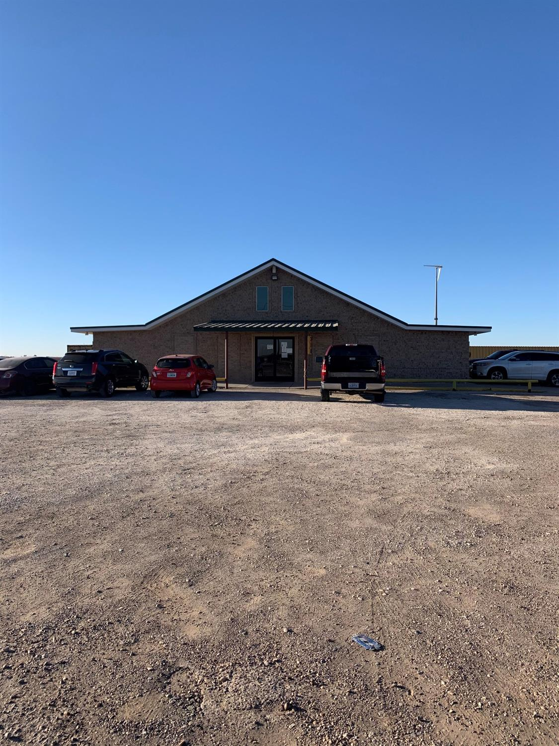 ReDUCED!! 3,600 sq. ft. office building on 1.49 acres just 1 mile outside Lubbock City limits on Highway 84. Building  has 2 new A/C's and a new hot water heater. On well and septic. Currently leased at $5,000/mo. Call now for appointment to view.